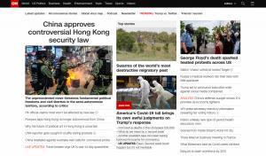 CNN with pihole