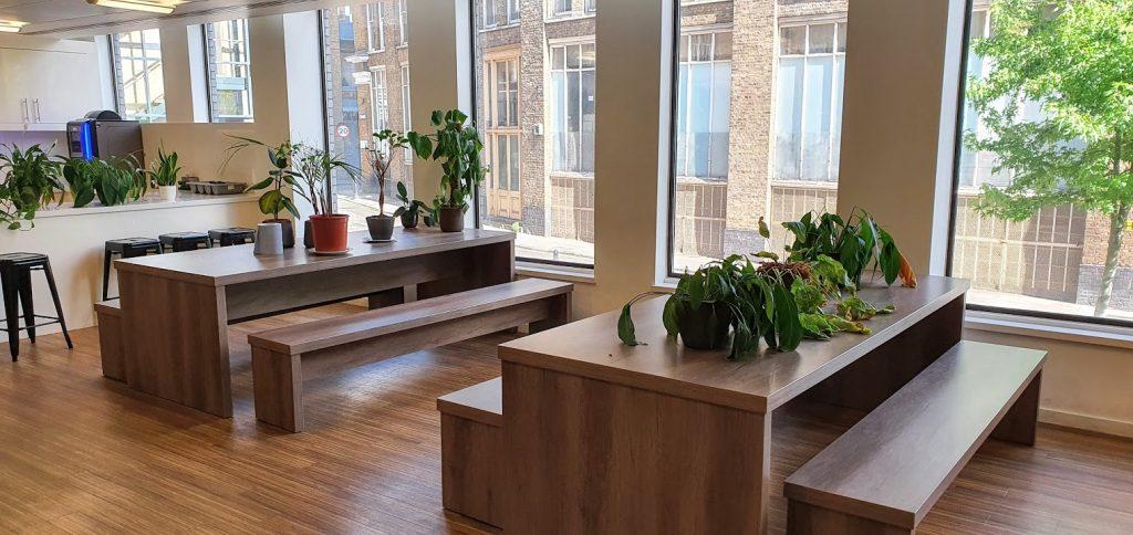 TechHub London Kitchen Area